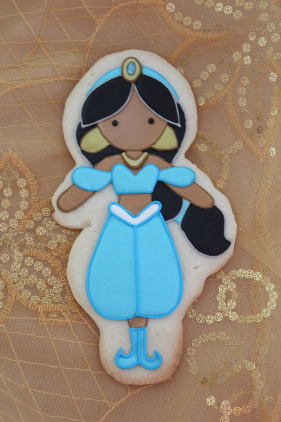 Princess Jasmine on Cake Central