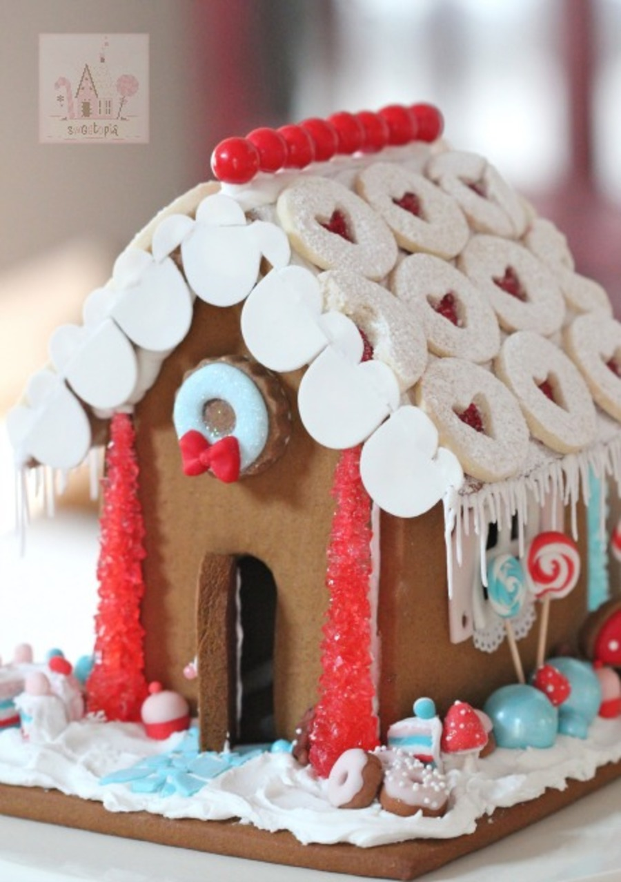 Sweet Treats Gingerbread House on Cake Central