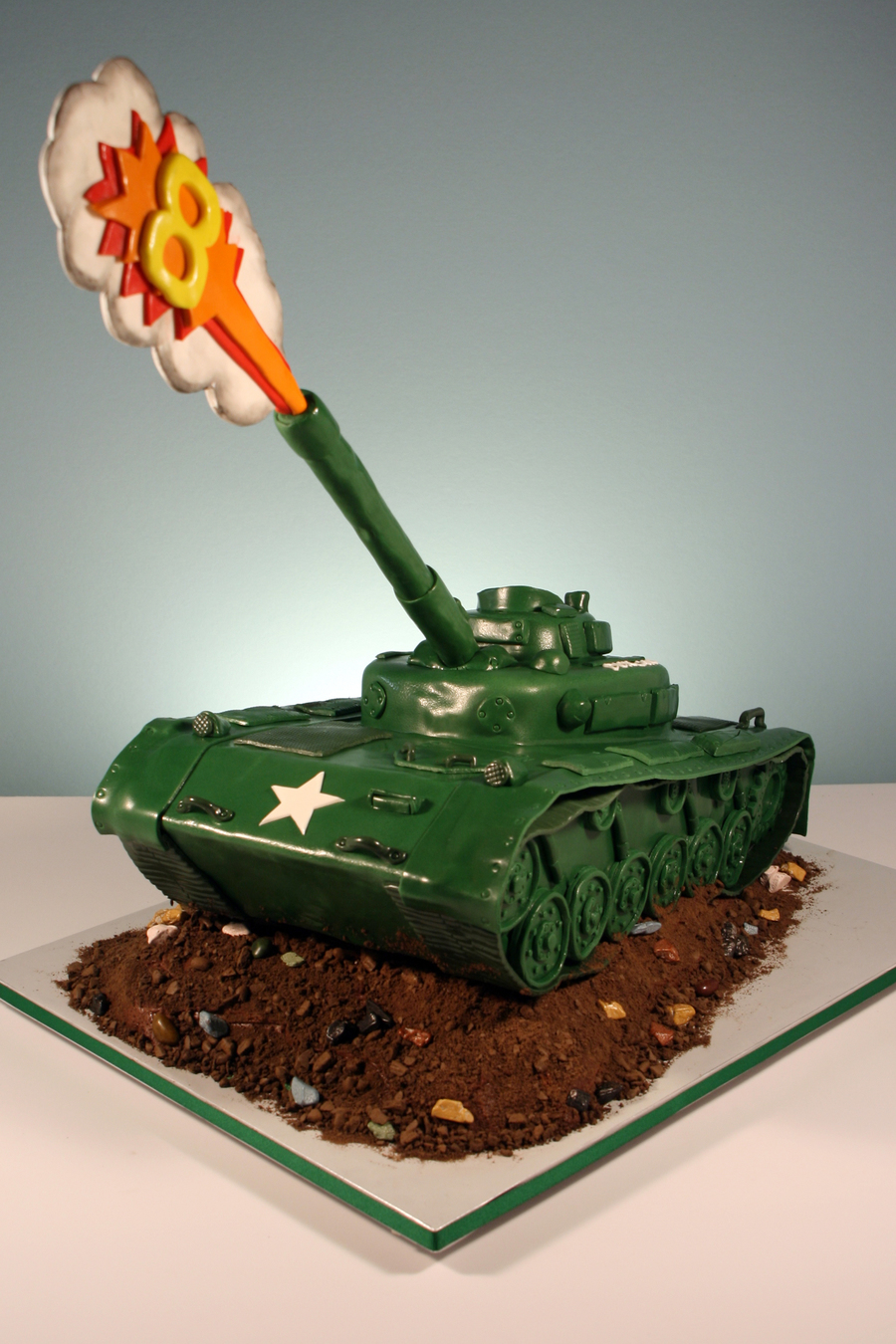 Army Tank Cakecentral Com
