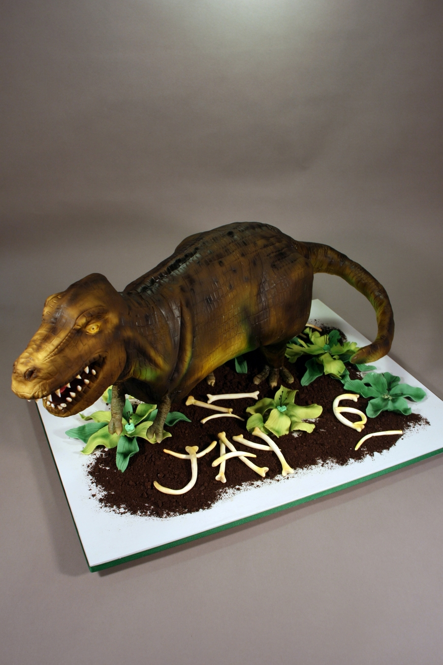 T Rex Birthday Cake Cakecentral Com