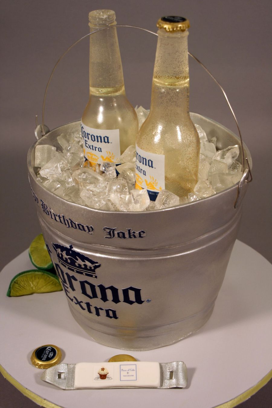 corona beer bottle bucket birthday cake cakecentralcom