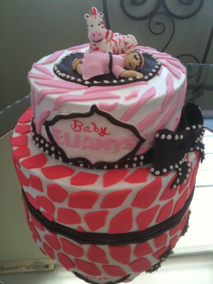 Baby Girl on Cake Central