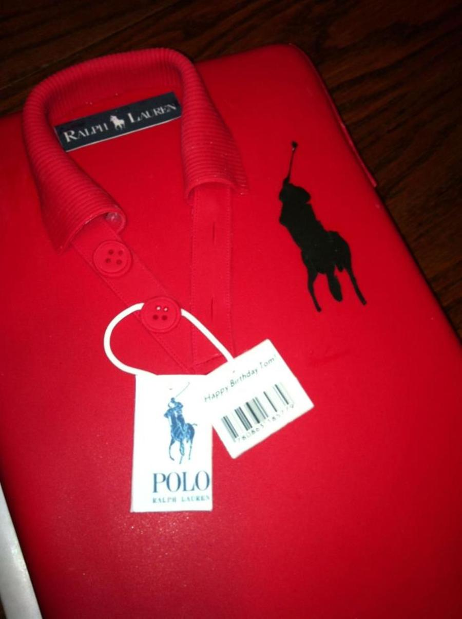 Big Pony Ralph Lauren Polo Shirt Cake on Cake Central