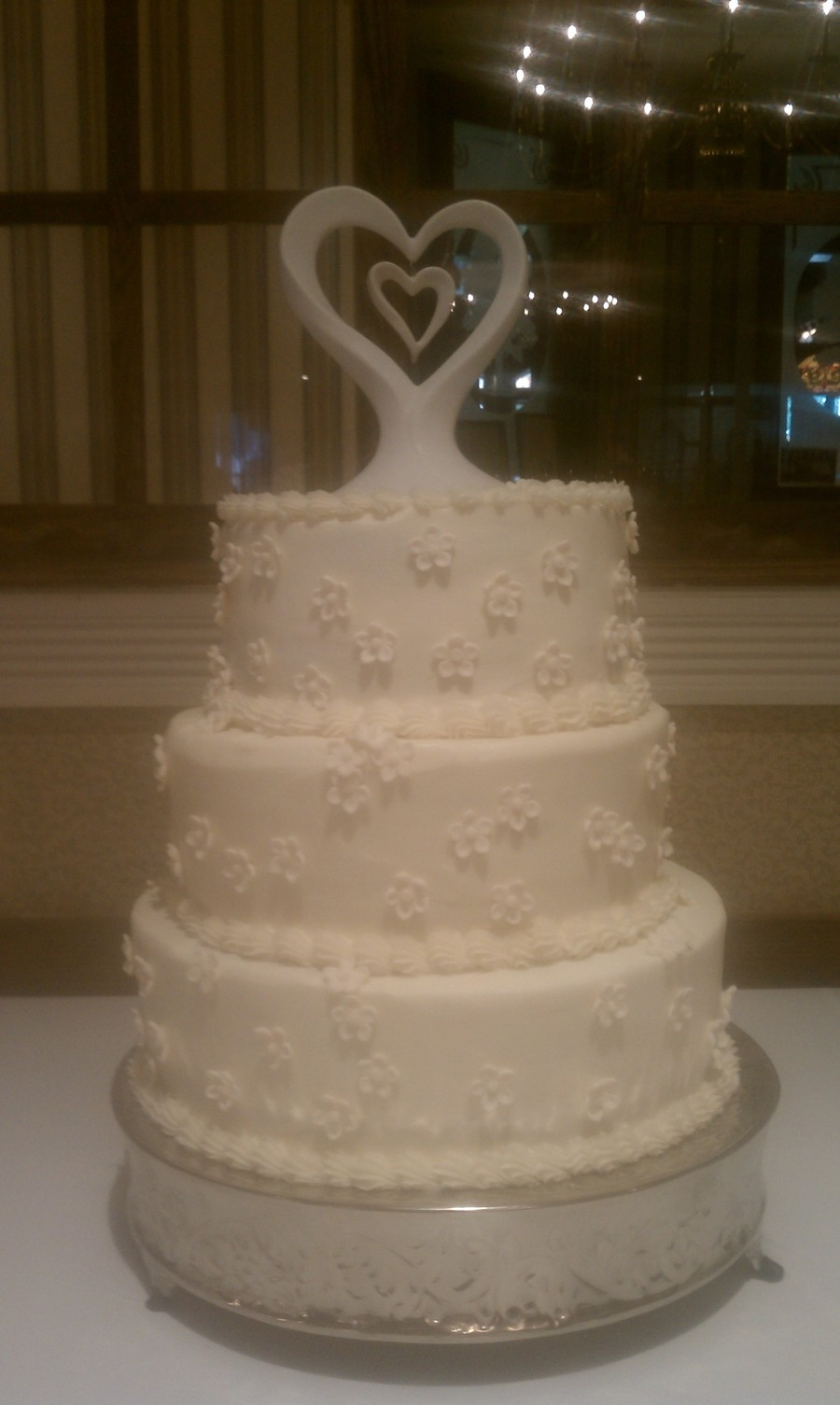 Last Ever~Tired Wedding Cake on Cake Central