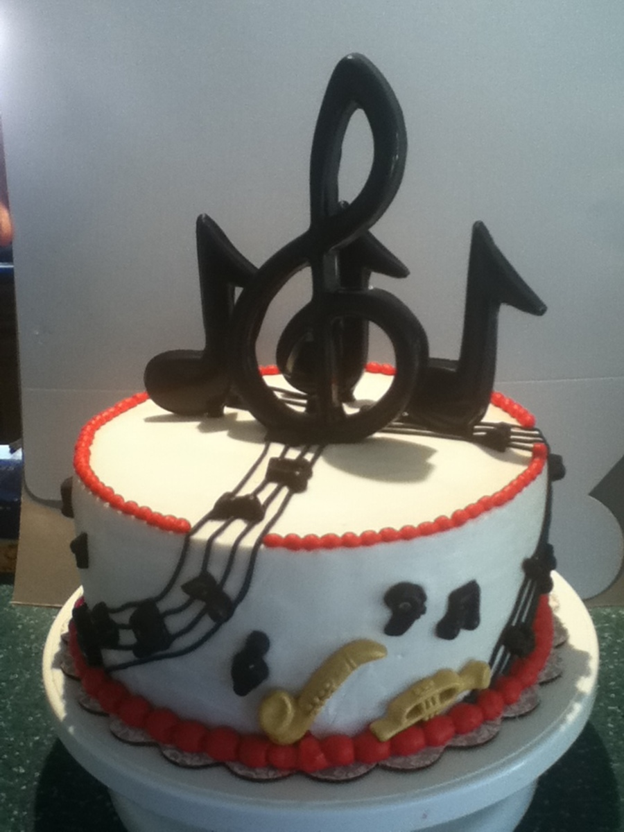 Jazz Musical  on Cake Central