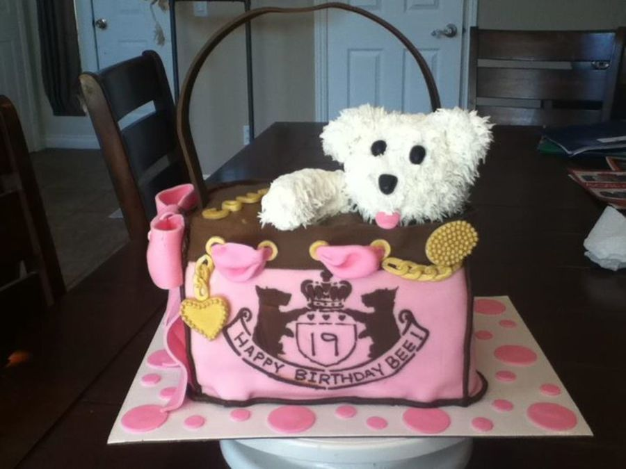 Juicy Couture Bag on Cake Central