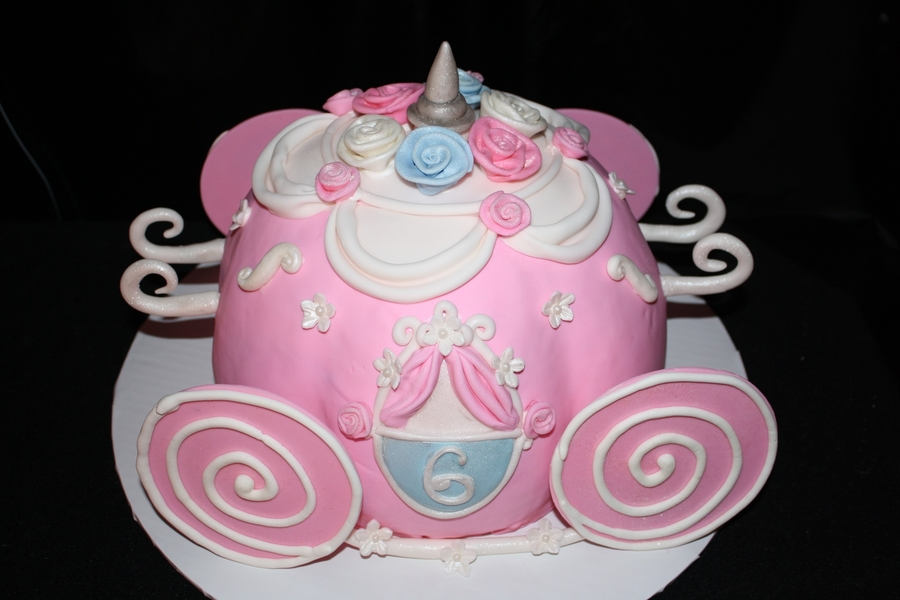 Princess Carriage Cake on Cake Central