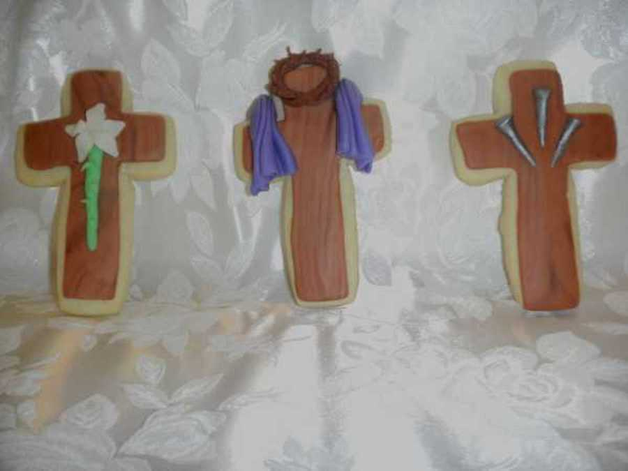 Easter Crosses  on Cake Central