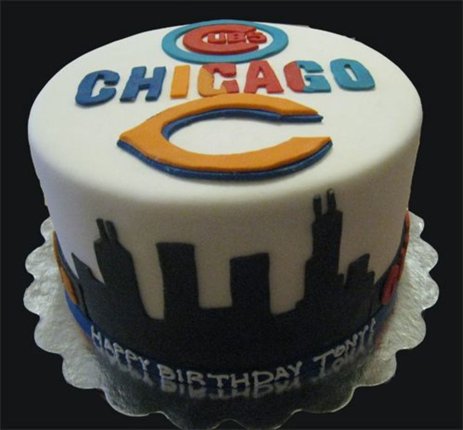Chicago Sports Fan on Cake Central