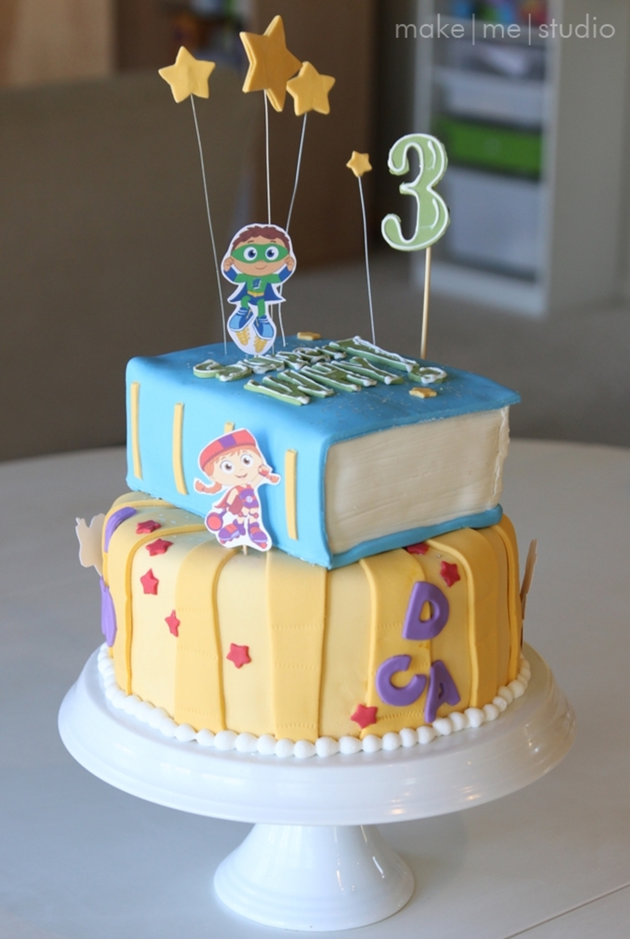 Super Why Birthday Cake on Cake Central