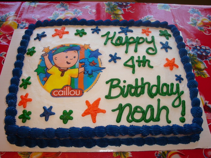 ~Caillou Cake~ on Cake Central