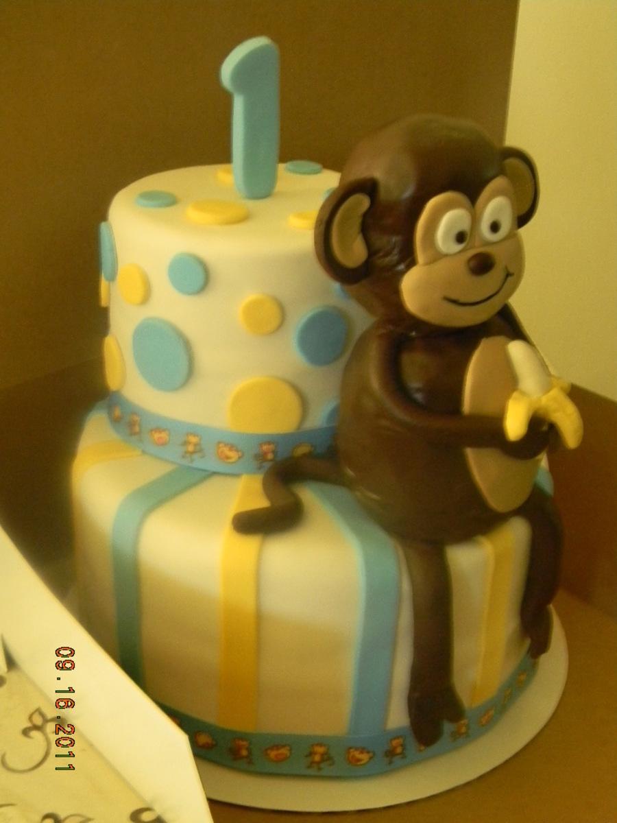 Monkey 1st Birthday Cakecentral
