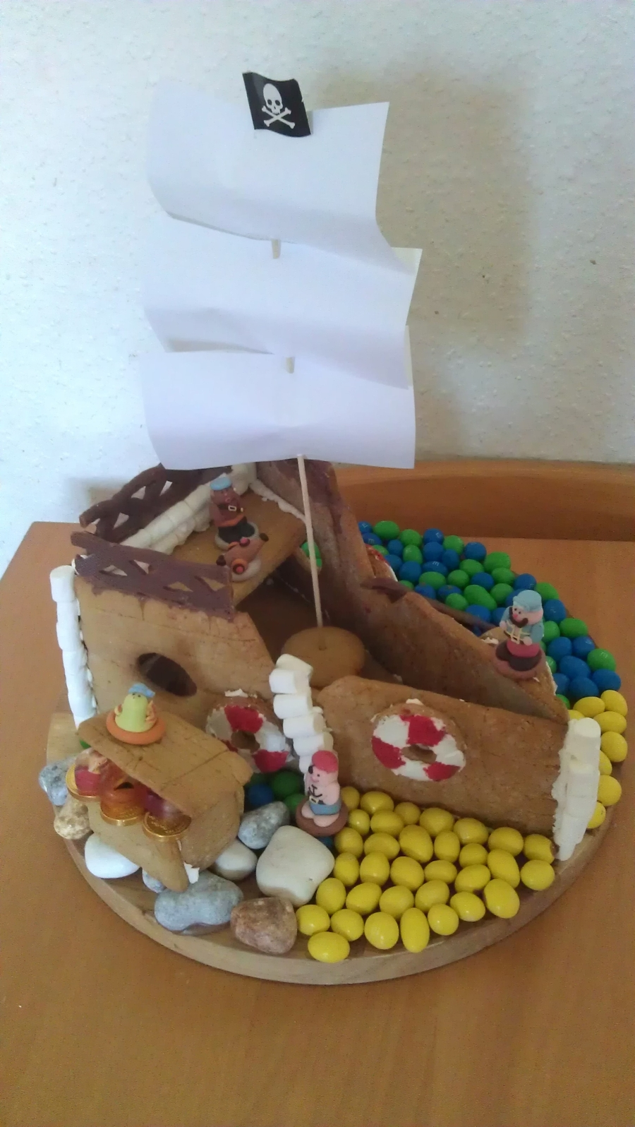 Gingerbread Pirate Ship on Cake Central