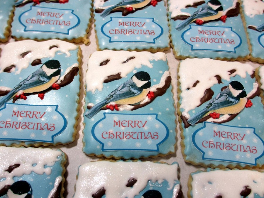 Bird Cookies on Cake Central