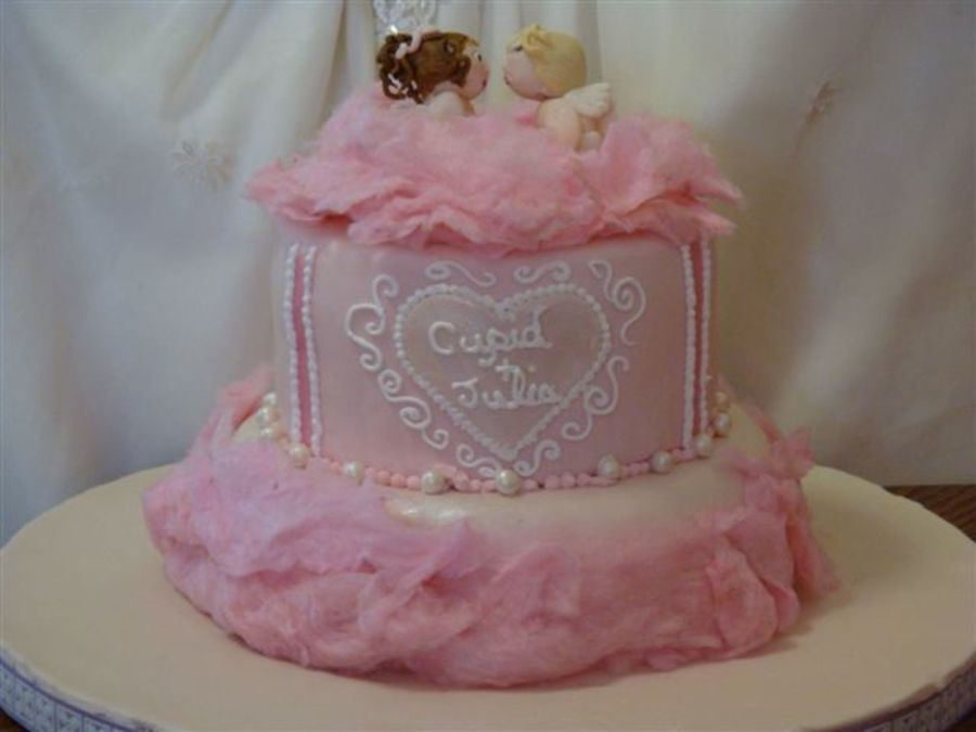 Cupid's Kiss  on Cake Central