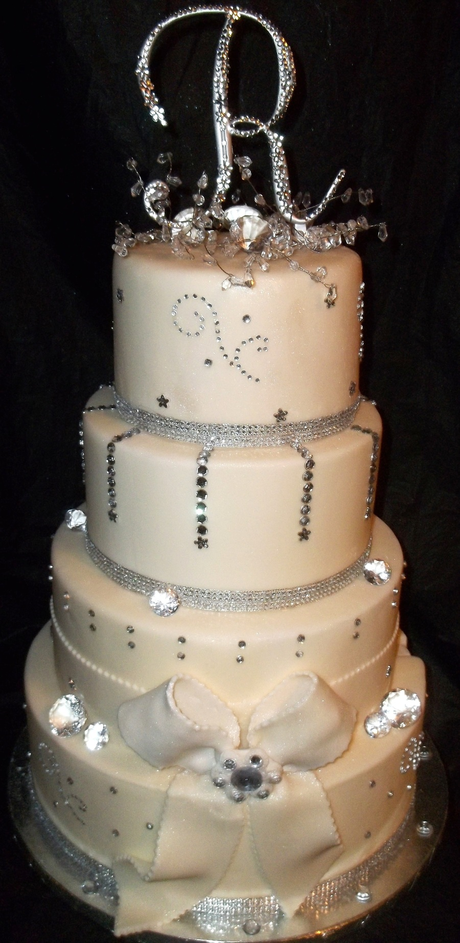 Bling Wedding on Cake Central