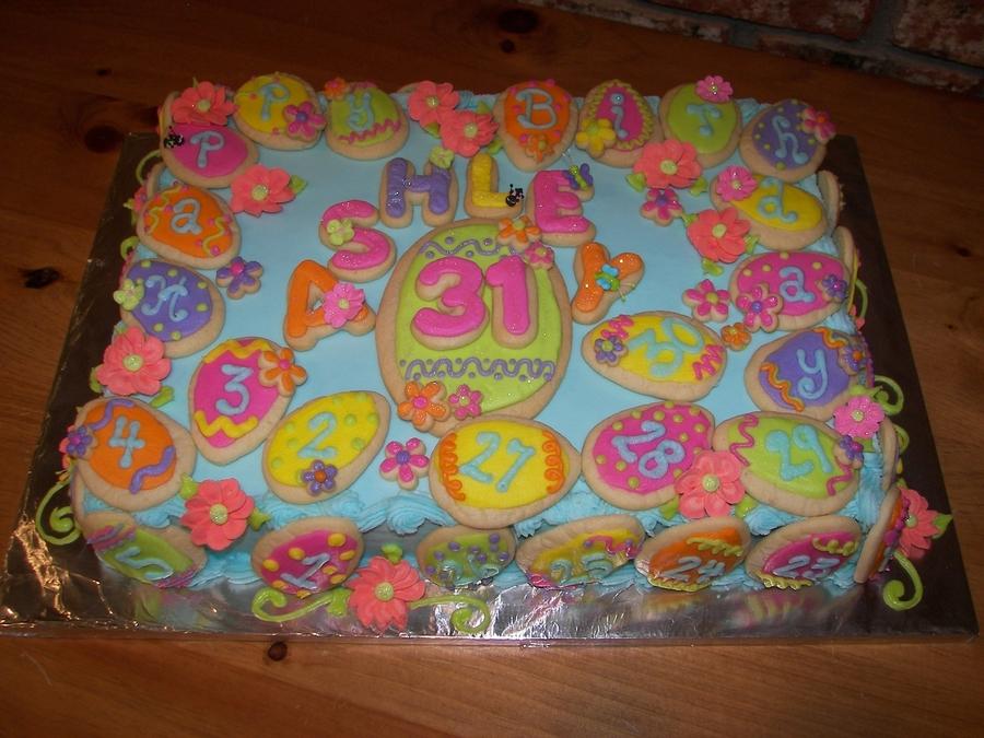 Easter Egg Birthday Cakecentral Com