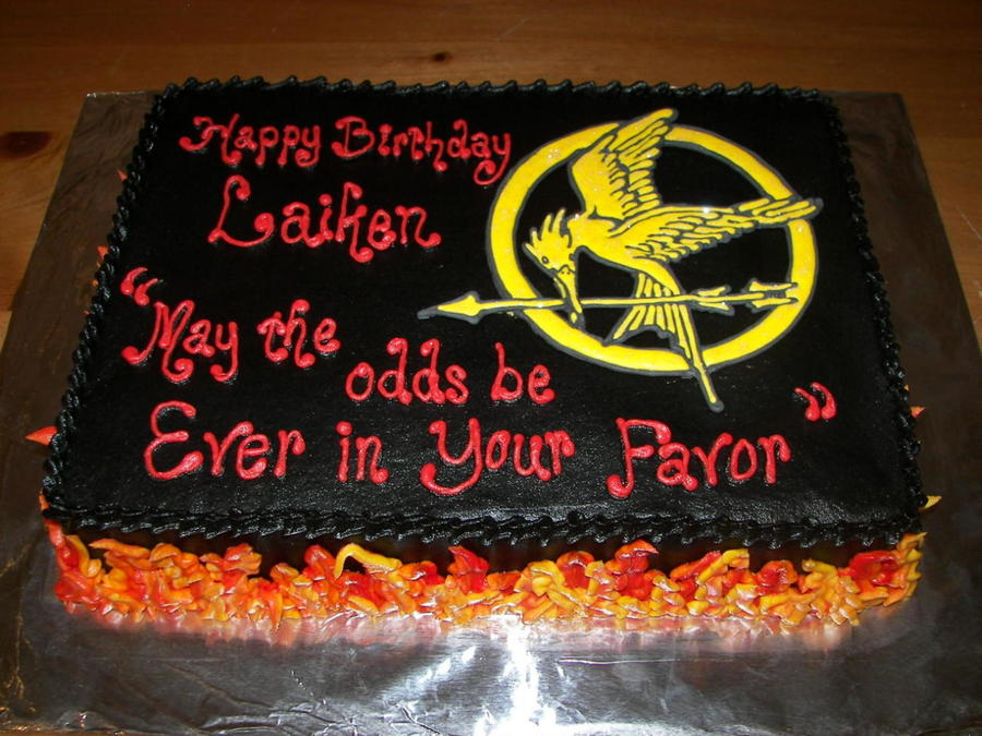 Hunger Games Birthday Cake Cakecentral