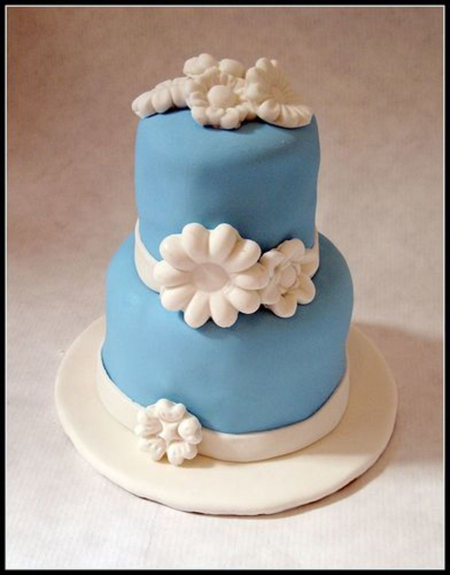 Bridal Mini Cake on Cake Central