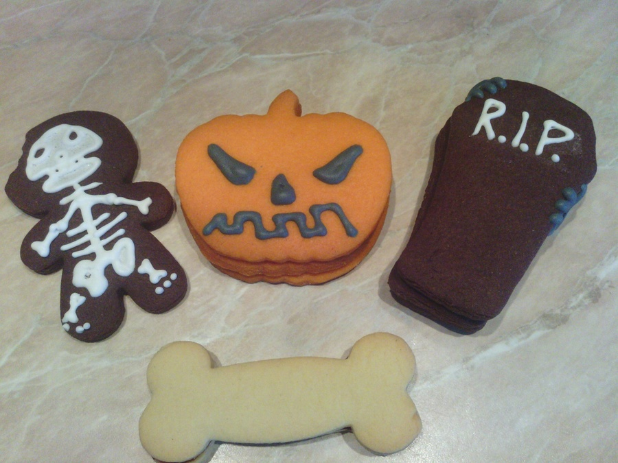Halloween Pinata Cookies And Skeleton Cocoa Man on Cake Central