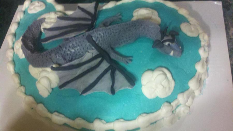 Dragon Takes Flight on Cake Central