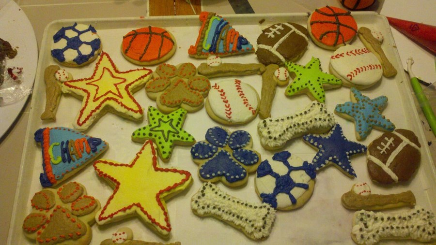 Cookies To Match Baby Bedding on Cake Central