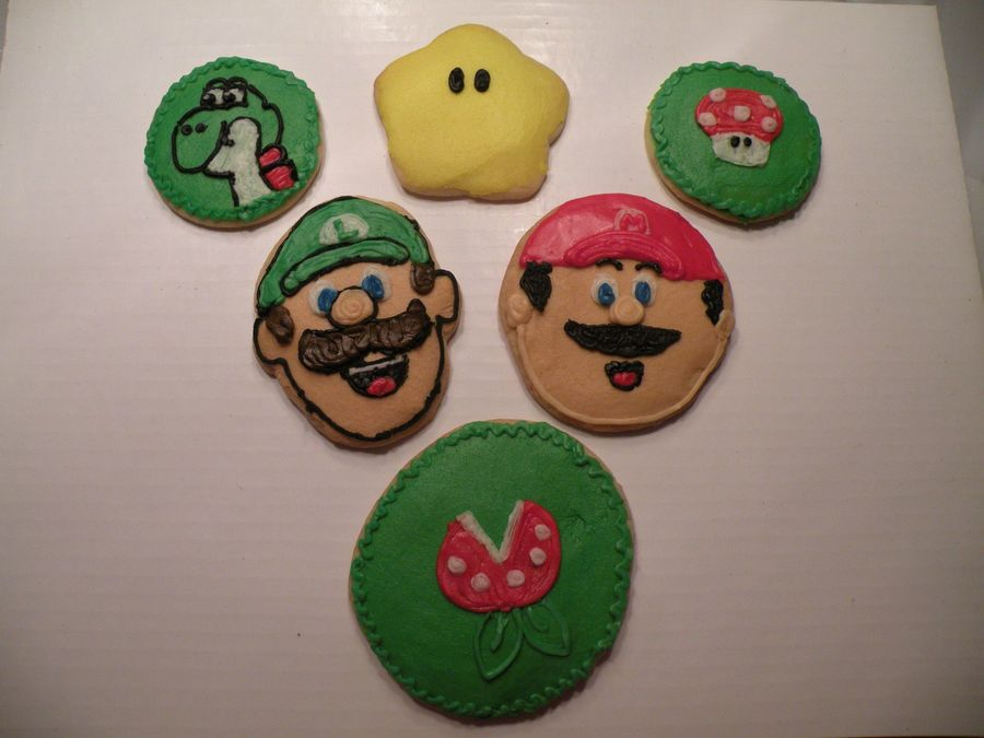 Super Mario Brothers Cookies on Cake Central