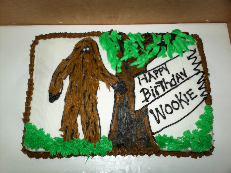Wookie, Chewbacca, Bigfoot on Cake Central