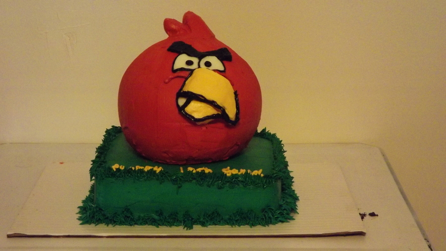 Angry Bird!  on Cake Central