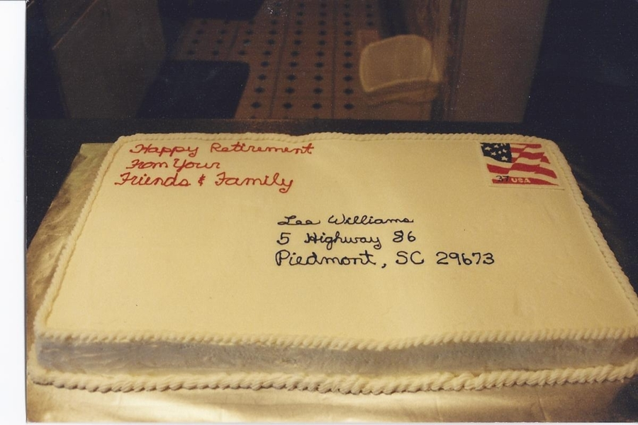 Lee's Retirement Cake on Cake Central