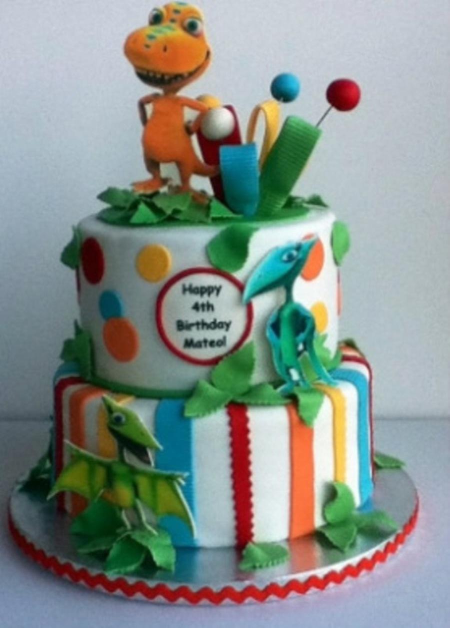 Dinosaur Train Birthday Cake Ideas