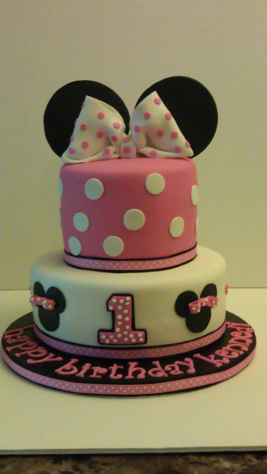 Minnie Mouse Cakejpg on Cake Central