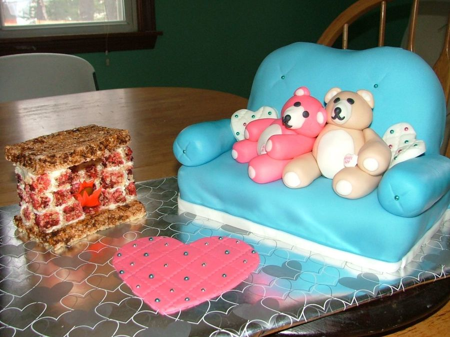 Beary Cuddly on Cake Central