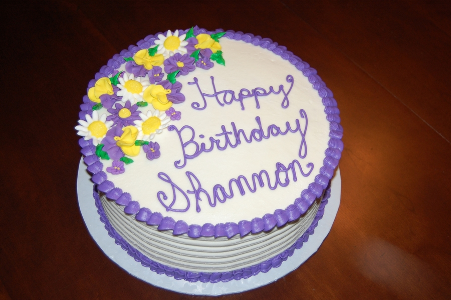 Happy Birthday Shannon Cakecentral Com