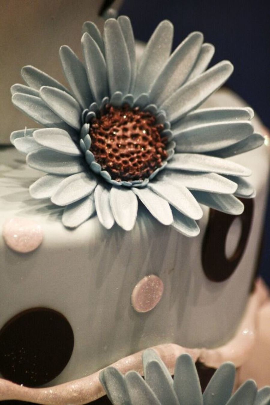Close Up Of My Daisy on Cake Central