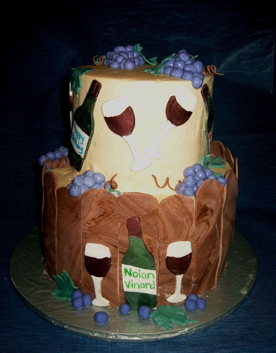 Enjoyable Wine Birthday Cakecentral Com Funny Birthday Cards Online Ioscodamsfinfo