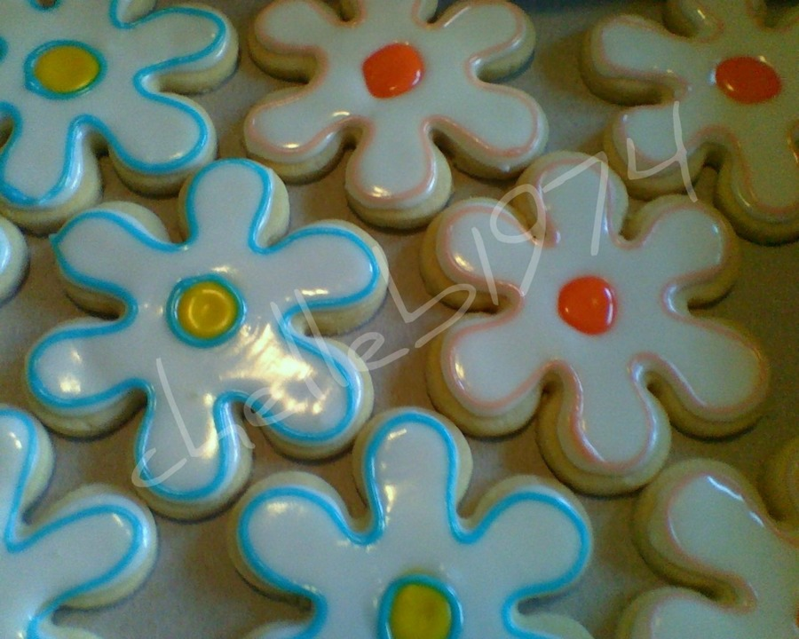 Flower Cookies on Cake Central
