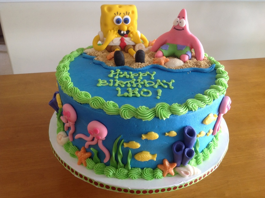 Gateau Sponge Cake Boss