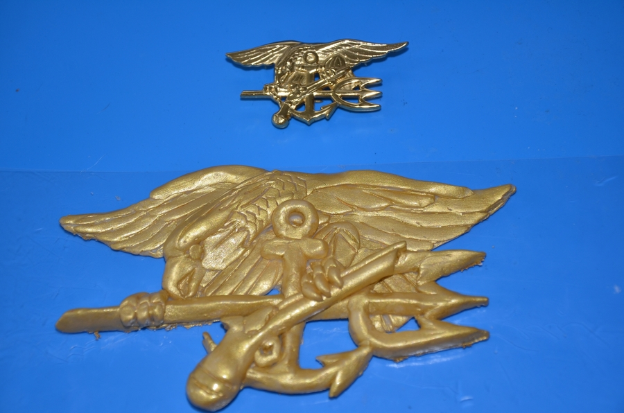 Navy Seal Trident on Cake Central