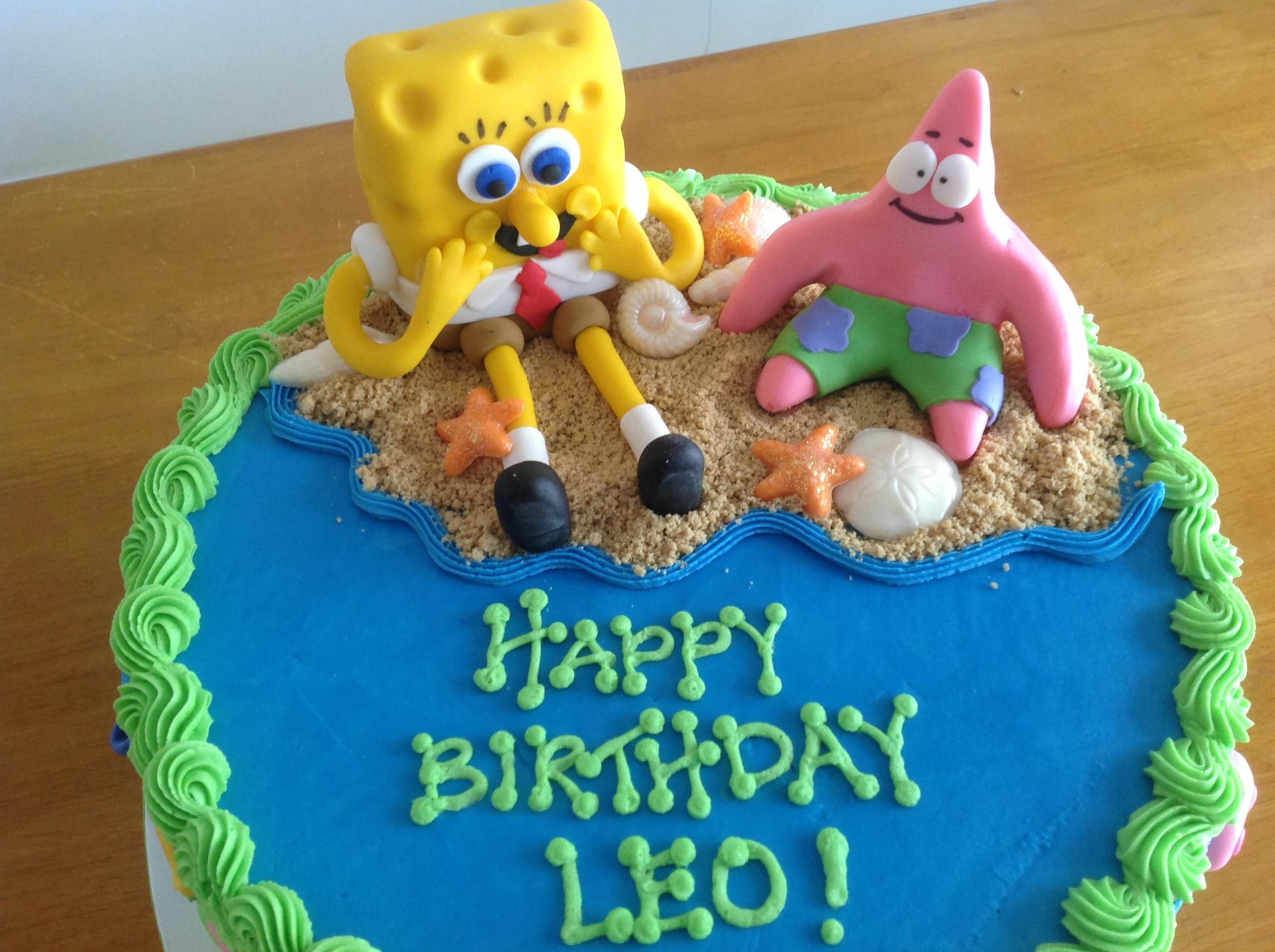 Spongebob Cake - CakeCentral.com