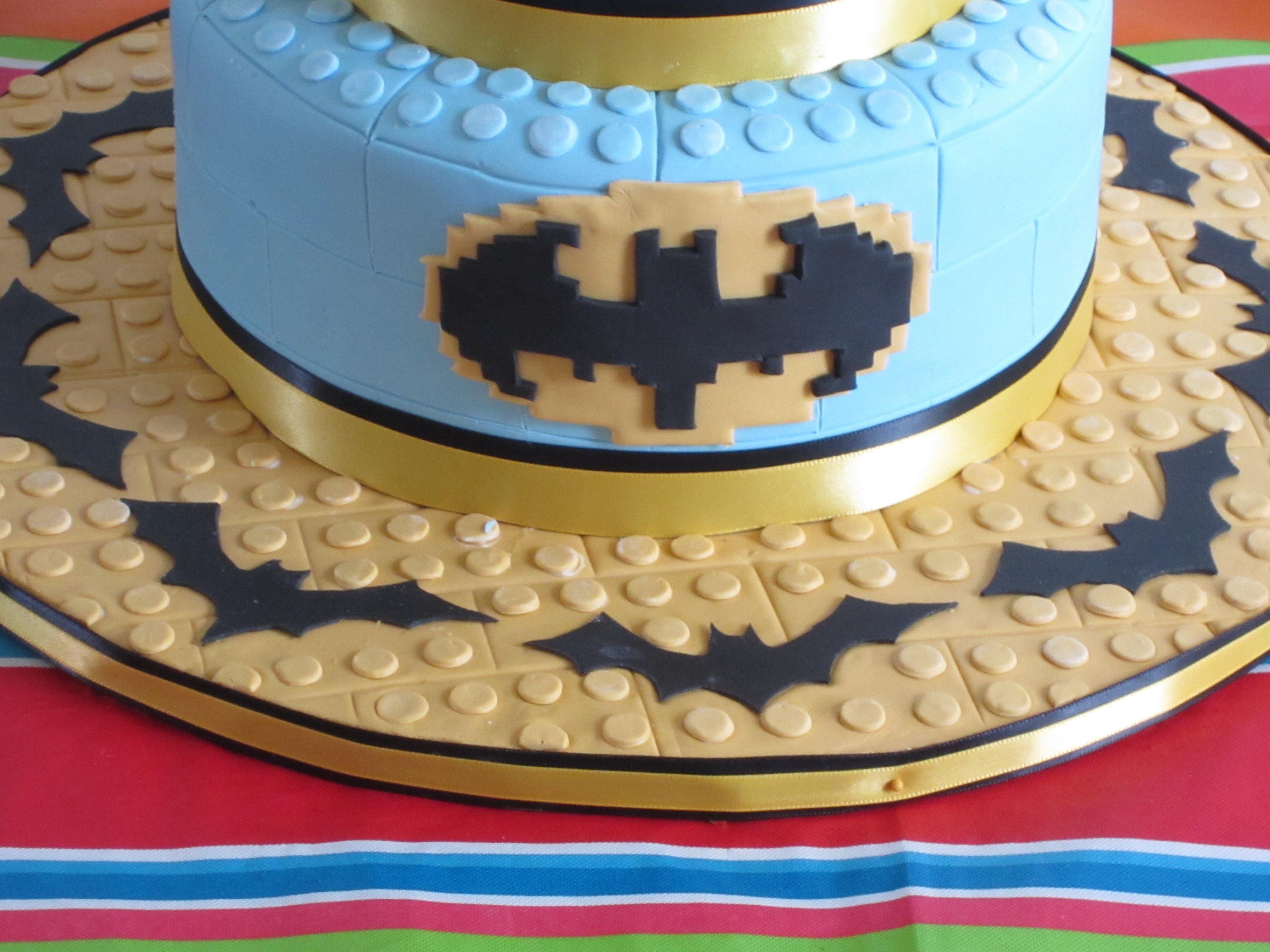 Birthday Cake Ideas Lego ~ Batman lego birthday cake cakecentral