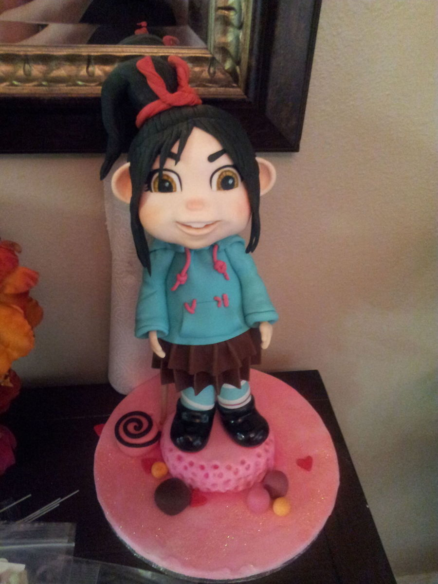 Vanellope Figure on Cake Central