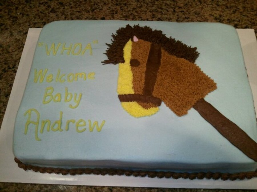 Stick Horse on Cake Central