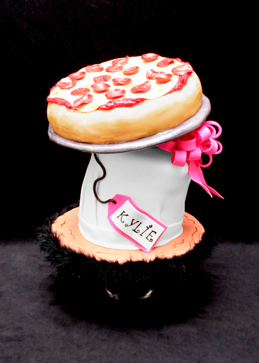 Pizza For Kylie on Cake Central