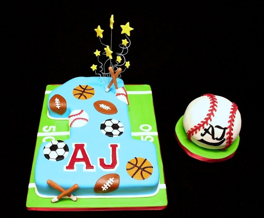 Sports 1St Birthday on Cake Central
