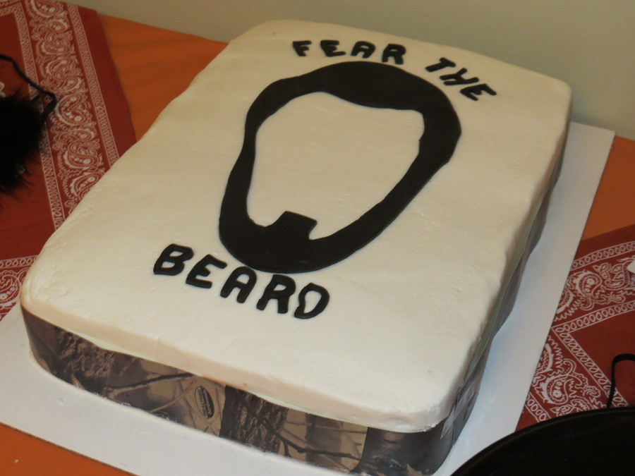 Duck Dynasty Beard on Cake Central