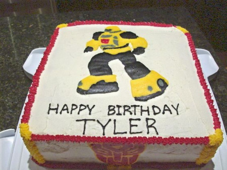 Transformers - Bumblebee on Cake Central