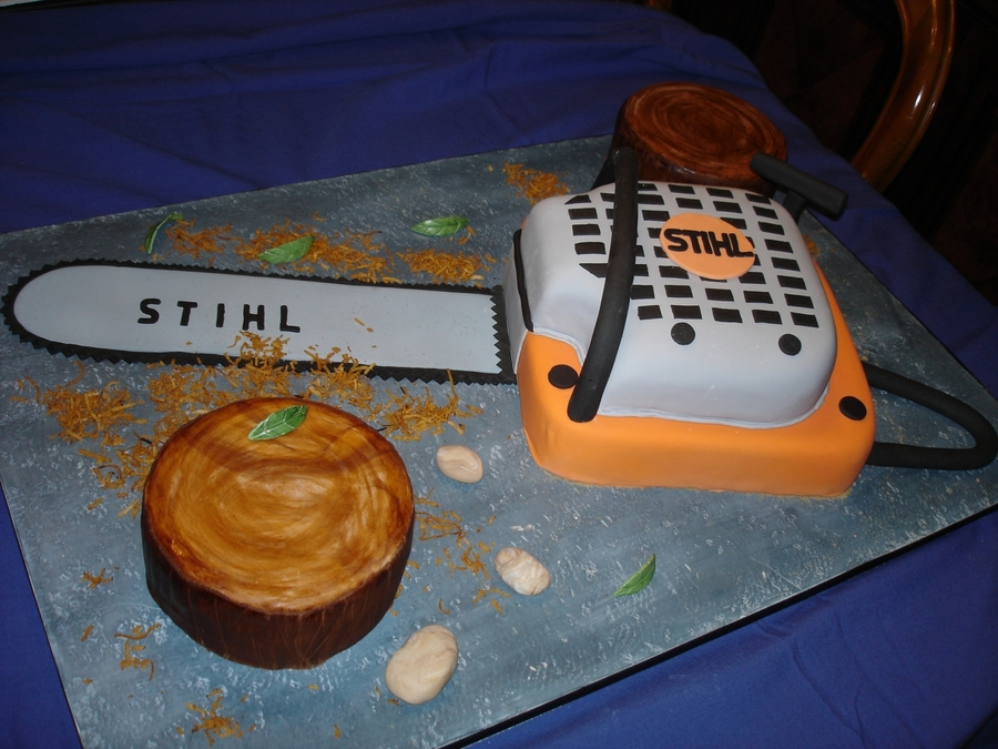 Chainsaw on Cake Central