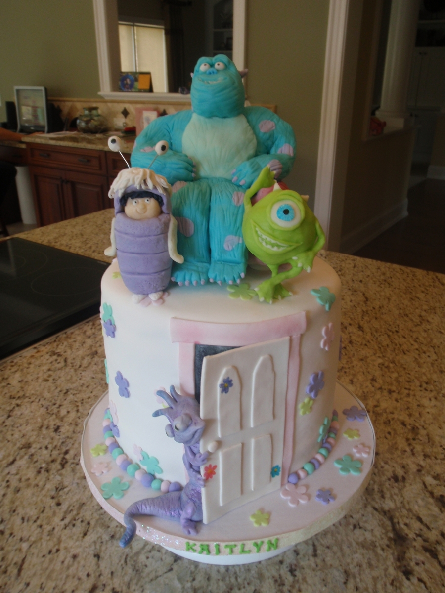 Monsters Inc Cake Cakecentral Com