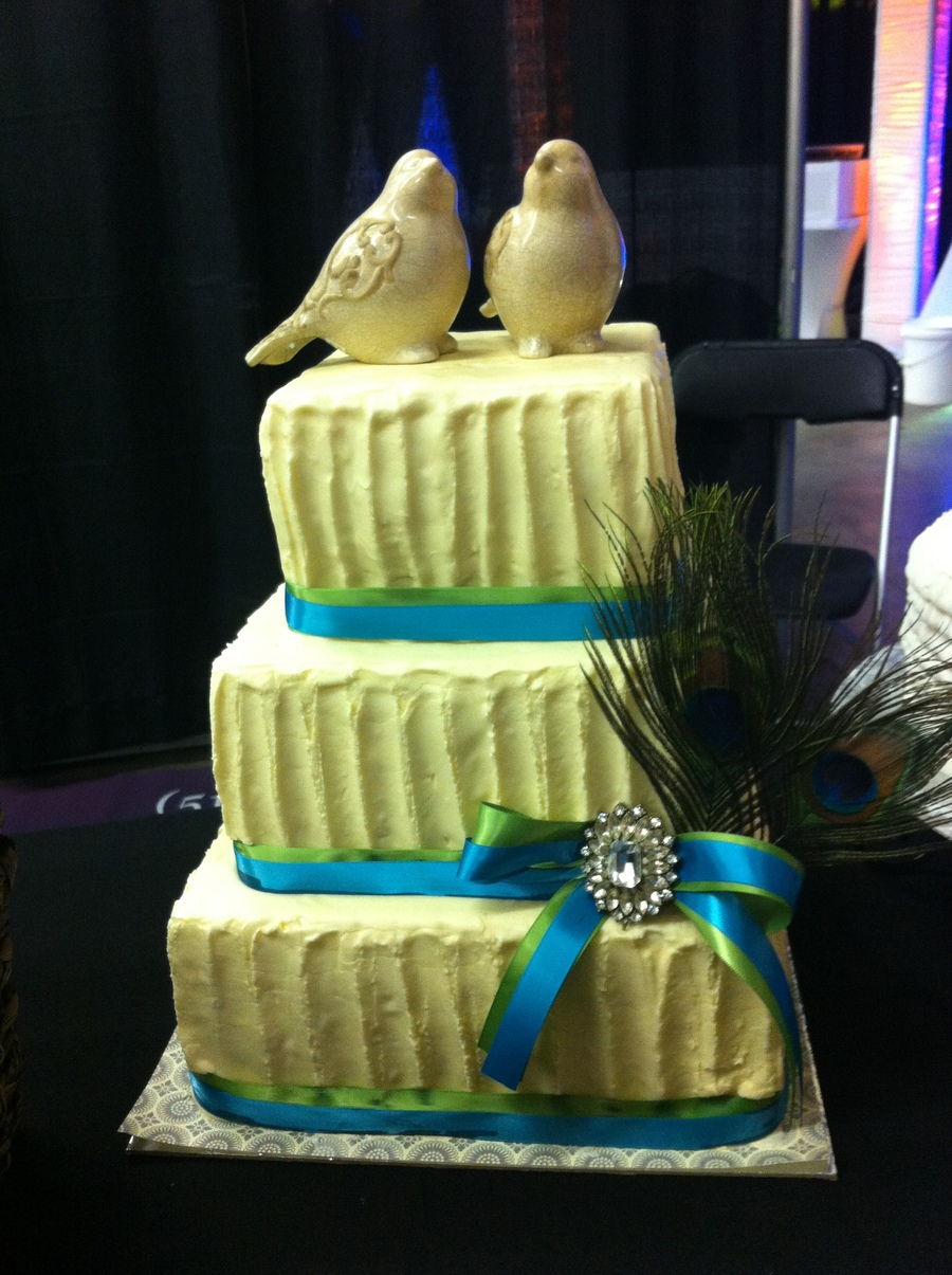 Rustic Birds on Cake Central